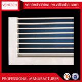 Gril simple en aluminium de plafond d'air d'approvisionnement de gril de fléchissement de systèmes de la CAHT