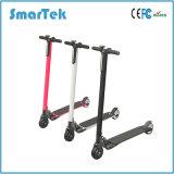 Scooter électrique en aluminium Patinete Electrico S-020 de la fibre urbaine de carbone pliable la plus légère de Smartek