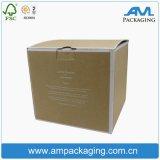 Material de papel ondulado rígido Armazenamento de caixa dobrável personalizado em Guangzhou