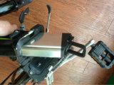 Bicyclette électrique pliable de batterie au lithium (LWEB-Q9)