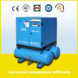 Compresseur d'air rotatif à injection industrielle à injection d'huile fabriqué en Chine