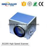 Varredor rápido Js2205 do Galvo com a abertura de 12mm para a marcação do laser