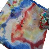 Drucken-bunter Polyester-Schal für Frauen-Form-Zusatzgeräten-Schal