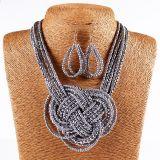 De Boheemse Parels Gevlechte Reeks van de Juwelen van de Manier van de Halsband van de Nauwsluitende halsketting van de Kraag