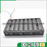 support de la batterie 8AA avec fils de fil rouges/noirs