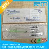 microchip animal de 134.2kHz RFID para o controle de doenças animais dos peixes do réptil da tartaruga