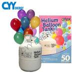 цилиндр воздушного шара партии гелия 50L с низким давлением