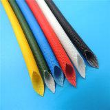 Manicotti di protezione del collegare Braided della vetroresina del silicone dei materiali di isolamento