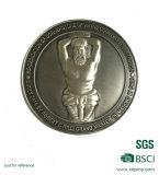 pièces de monnaie maçonniques de souvenir en métal de Riligion du logo 3D