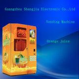 Jus d'orange et boire distributeur automatique