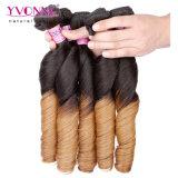 Cabelo 100% humano de Ombre do Weave brasileiro do cabelo de Remy