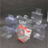 Verpacken- der Lebensmitteldrucken-grüner transparenter faltender Plastikkasten