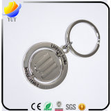 Kundenspezifischer Umlauf drehen Ring-Schlüsselkette