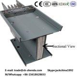 Barra de distribución de aluminio Busway Busduct de la fuente de alimentación de 4 postes