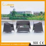 Ocio color blanco Rattan jardín al aire libre más reciente conjunto de sofás de diseño de muebles