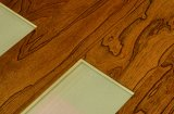 Suelo de madera antiguo de 666 olmos