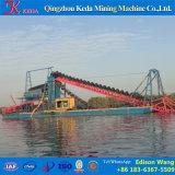 Draga de cubeta Chain de mineração do ouro do rio para a venda