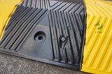 Hotsaleの黒く及び黄色カラーゴム製反射速度のこぶ
