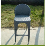 Tabela e cadeira de vime da barra do pátio ao ar livre da mobília do Rattan do lazer