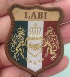 Stickerei-Abzeichen, weiches Emblem, Abzeichen-Hersteller (GZHY-KA-089)
