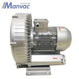 Manvac 1.5kwのリングのブロアの空気ポンプ機械