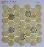 Мозаика стекла мозаики Hexigon