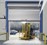 Portello industriale ad alta velocità del PVC dell'acciaio inossidabile del metallo del motore della turbina (Hz-FC0532)