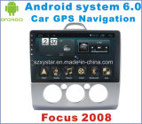 Navegación de coche de Android System 6.0 para Ford Focus 2008 con reproductor de coche