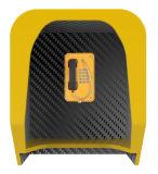 Cabina di telefono acustica, cappucci resistenti del telefono del vandalo, cabine di telefono insonorizzate