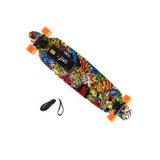 Quatro rodas skate Kick Board com Remoter