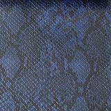 Couro de sapatas de couro das bolsas do PVC do plutônio do teste padrão da serpente