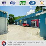 Prefabricated 가벼운 강철 구조물 사무실 건물