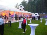 20X30m riesiges Aluminium Belüftung-Ereignis-Partei-Hochzeits-Zelt-niedrige Kosten-Fertighaus-Haus