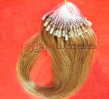 Extensão do cabelo do anel do laço do cabelo humano