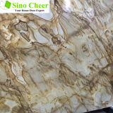 Alibaba Hot Selling Brown Marble, Rainforest Brown Marble Slab