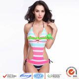 Swimsuit женщин цельные/нашивка сексуальное цельное Swimwears женщин