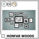Frame de madeira da foto do retrato da simplicidade americana do estilo para a decoração da parede