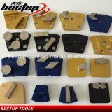 Разные виды плита конкретных инструментов диаманта меля