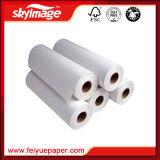 Papier de transfert de sublimation rapide à haute vitesse FW75GSM 70GSM Fast Dry Jumbo Roll pour haute vitesse Ms Jp4