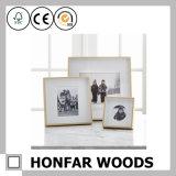 Frame natural da foto do retrato da madeira contínua para a decoração da entrada do hotel