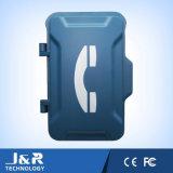 Boîtier robuste de téléphone, interpréteur de commandes interactif industriel de téléphone, boîtiers de pièces jointes de téléphone