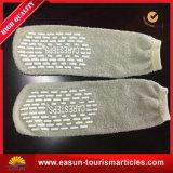 Chaussettes remplaçables d'avion de qualité avec du matériau de tissu de Terry