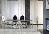 Большинств популярная новая нержавеющая сталь раздела обедая стул
