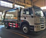FAW camión de la basura, basura compactador de recogida de basuras, camión compactador de basura