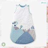 Streifen-Drucken-Baby-Abnützung Gots Baby-Schlafsack