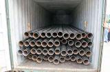 Tubo d'acciaio senza giunte saldato il nero con il prezzo poco costoso per tester