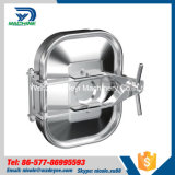 quadrado higiênico Manway externo do tanque de 435mm*335mm