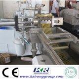 Hoja plástica doble paralela Co-Giratoria del tornillo Extruder/EVA que hace la máquina/el estirador de hoja plástico