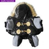 Vêtement d'animal familier des vêtements d'usure de l'hiver de crabot