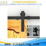 Оборудование двери амбара американской конструкции деревянное сползая